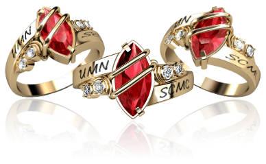Jostens ring designer